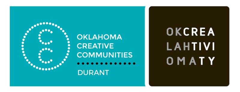 Oklahoma Creative Community - Durant
